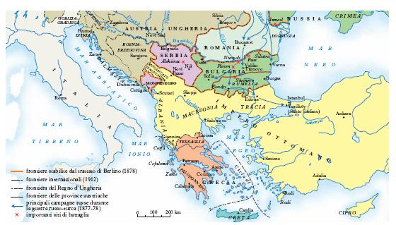 Cartina Fisica Europa Balcanica.Balcanica Penisola Nell Enciclopedia Treccani