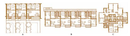 Casa nell 39 enciclopedia treccani for Piani artigiani per lotti stretti