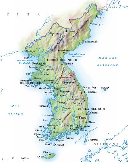 Corea Nell Enciclopedia Treccani