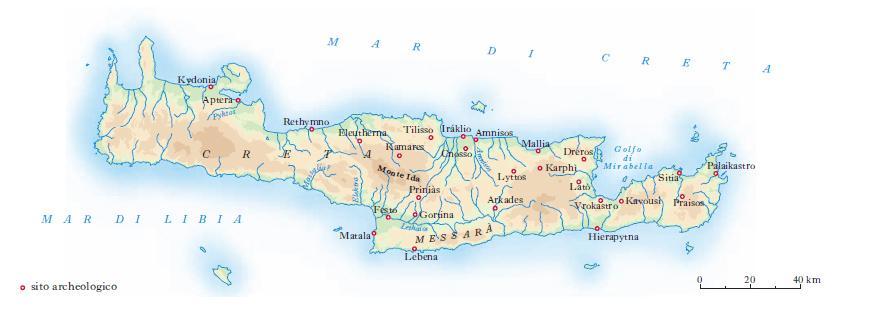 Cartina Geografica Dell Isola Di Creta.Creta Nell Enciclopedia Treccani