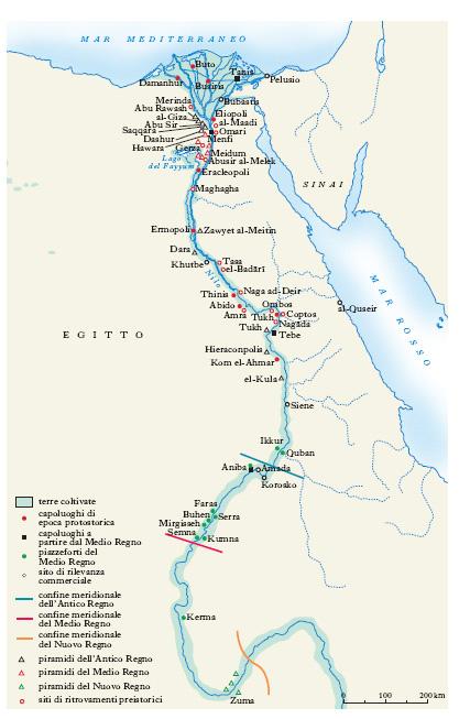 Cartina Egitto In Italiano.Egitto Nell Enciclopedia Treccani