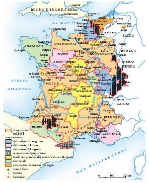 Cartina Politica Francia Con Regioni E Capoluoghi.Francia Nell Enciclopedia Treccani