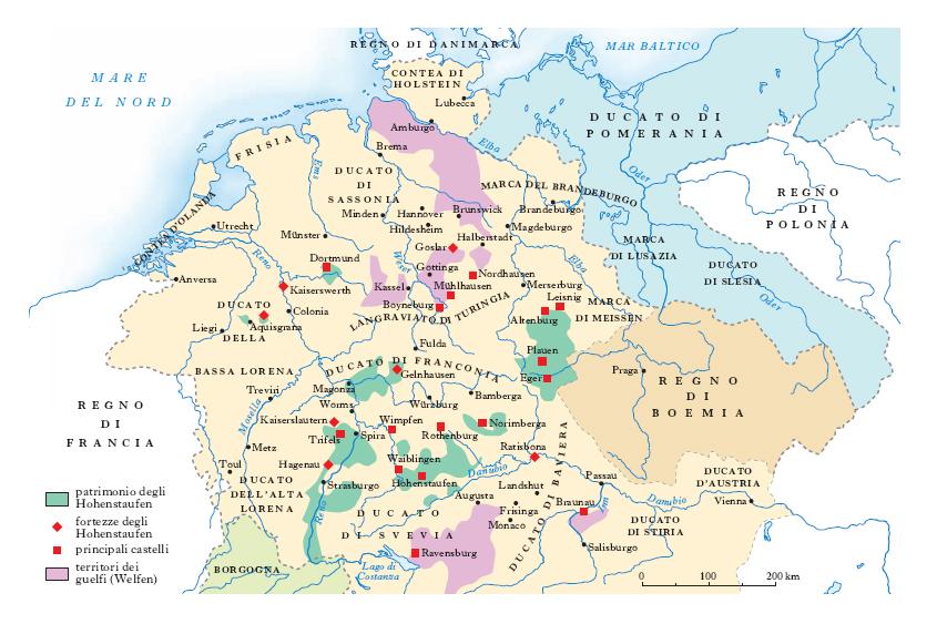 Germania Cartina Fiumi.Germania Nell Enciclopedia Treccani