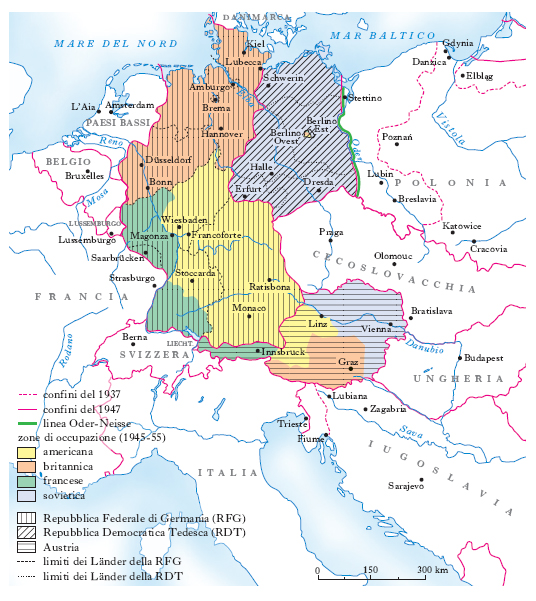 Germania Est Cartina.Germania Nell Enciclopedia Treccani
