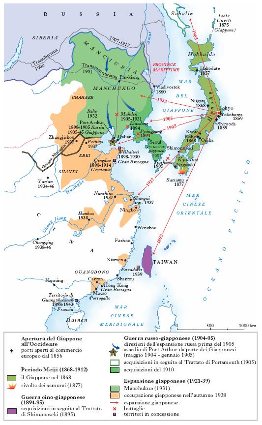 Cartina Muta Del Giappone.Giappone Nell Enciclopedia Treccani