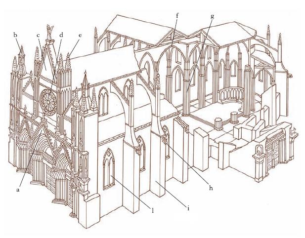 Gotico nell 39 enciclopedia treccani - Finestre circolari delle chiese gotiche ...