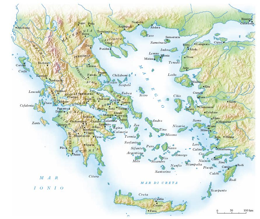 Cartina Della Grecia Politica.Grecia Nell Enciclopedia Treccani