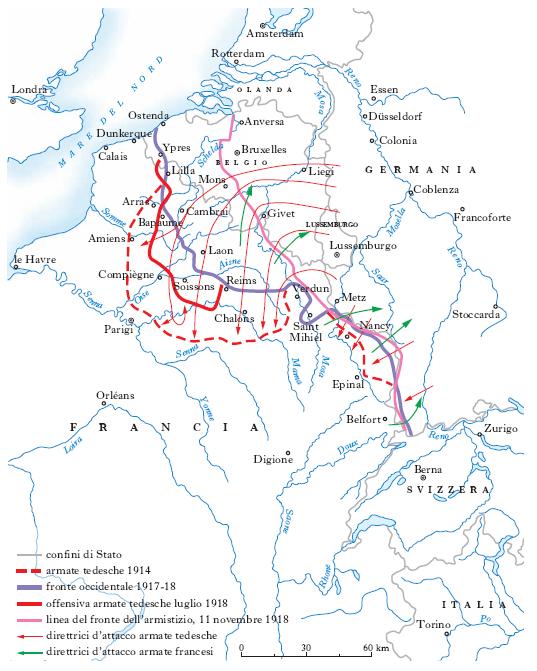 Guerra Mondiale Prima Nell Enciclopedia Treccani