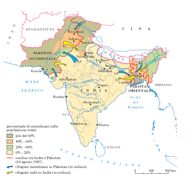 Cartina Dell India Del Nord.India Nell Enciclopedia Treccani