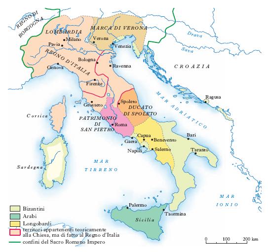 Cartina Dell Italia E I Suoi Confini.Italia Nell Enciclopedia Treccani