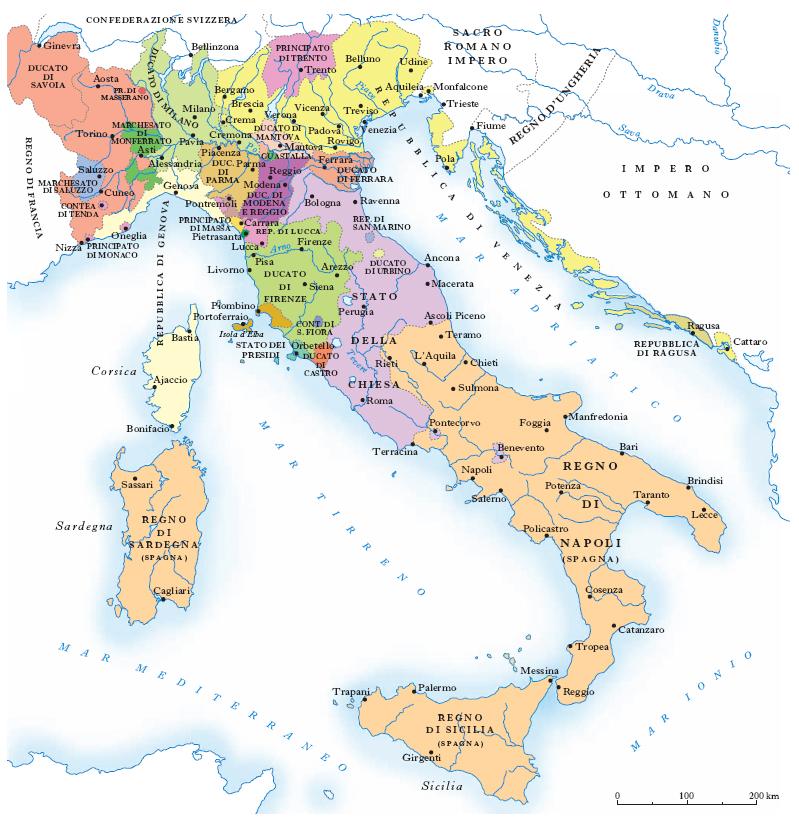 Cartina Muta Regioni Italia Settentrionale.Italia Nell Enciclopedia Treccani