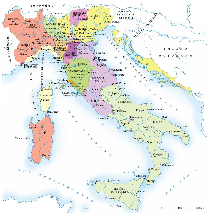 Cartina Muta Centro Italia.Italia Nell Enciclopedia Treccani