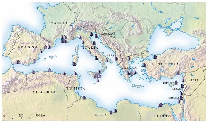 Cartina Geografica Mediterraneo Orientale.Mediterraneo Mare Nell Enciclopedia Treccani