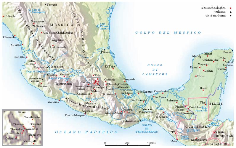 Cartina Geografica Fisica Del Messico.Messico Nell Enciclopedia Treccani