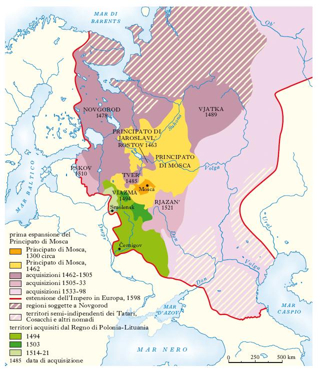 Cartina Fisica E Politica Della Russia.Russia Nell Enciclopedia Treccani