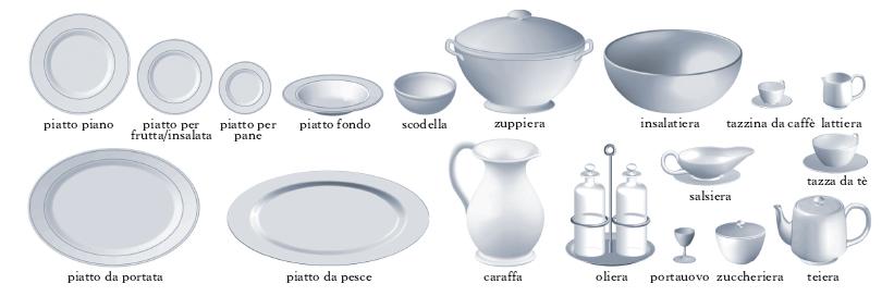 Stoviglie nell 39 enciclopedia treccani - Stoviglie e utensili da cucina ...
