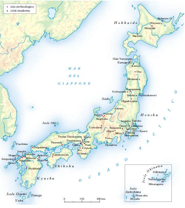 Cartina Fisica Del Giappone In Italiano.Giappone In Dizionario Di Storia