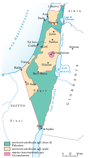 Stato Di Israele Cartina Fisica.Israele In Dizionario Di Storia