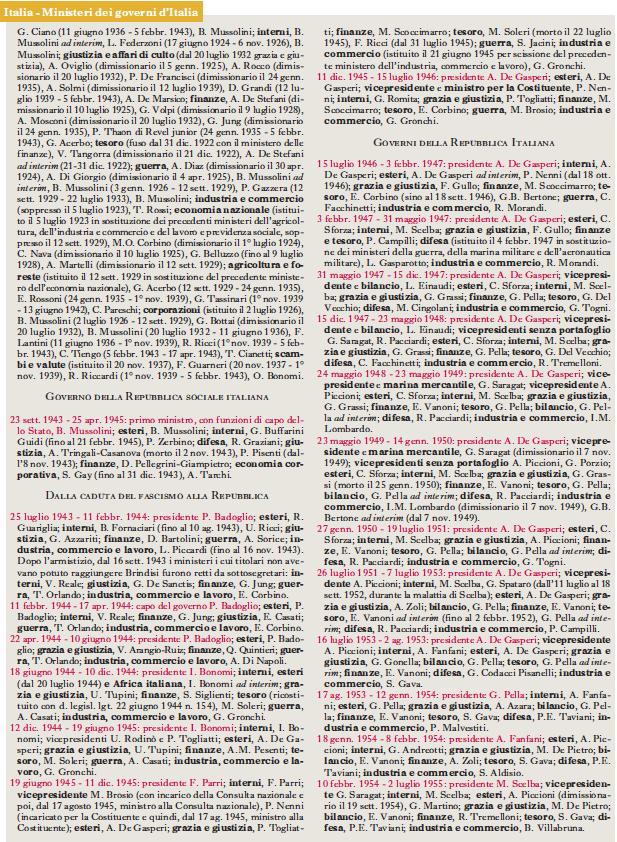 dizionario di storia treccani